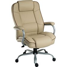 Teknik Goliath Duo Heavy-Duty Executive Chair - Cream