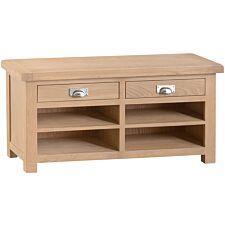 Wisborough Ready Assembled Small Oak Hall Bench