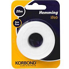 Korbond Hemming 20m Sew Free Clip Strip