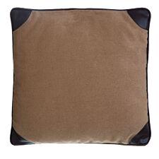 Premier Housewares Leather Texture Cushion