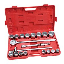 "Hilka 21-Piece Metric ¾"" Drive Socket Set"