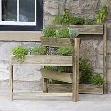 Zest4Leisure Hinged Herb Planter