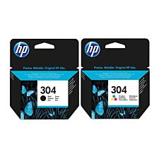 HP 304 Ink Combo Ink Cartridge - 2 Pack
