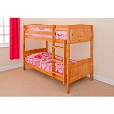 Kensington Single Bunk Bed - Caramel