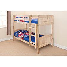 Kensington Single Bunk Bed - Natural