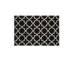 Premier Housewares Hand Tufted Hampstead Rug - Black/White