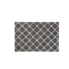 Premier Housewares Small Kensington Townhouse Rug - Grey/White