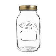 Kilner 1L Screw Top Preserve Jar