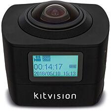 Kitvision Immerse 360 Degree Action Camera - Black