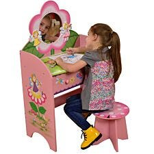 Liberty House Toys Kids Fairy Dressing Table & Stool