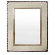 Premier Housewares Linen Mirror - Brown