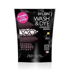 Dylon Chocolate Brown Wash & Dye
