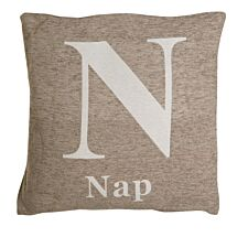 Premier Housewares 'Nap' Cushion - Natural