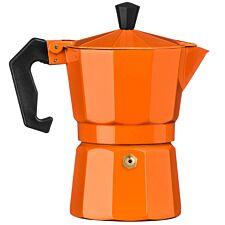 Premier Housewares 3-Cup Espresso Maker - Orange