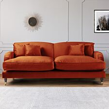 Oxford 3 Seater Sofa Malta Apricot