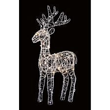 Premier Decorations Ltd Wire Reindeer with 30 LEDs - 45cm