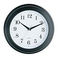 Vintage Wall Clock - Black
