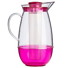 Premier Housewares 2.5L Jug with Ice Chamber - Pink