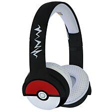 OTL Pokemon Pokeball Black Kids Wireless Headphones
