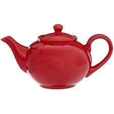 Premier Housewares 1.3L Teapot - Red