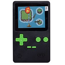 Thumbs Up Retro Handheld Console with 150 Games - Black/Green