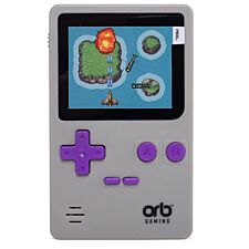 Thumbs Up Retro Handheld Console with 150 Games - Grey/Purple