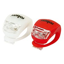 Rolson LED Bicycle Lights - Pack of 2
