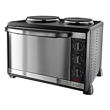 Russell Hobbs 22780 1920W 30L Mini Electric Oven with Twin Hotplates