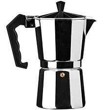 Premier Housewares 9-Cup Espresso Maker - Silver