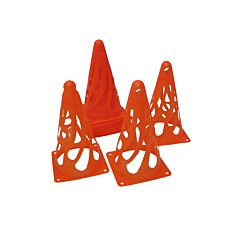 Charles Bentley Flexible Cones Training Football Sports - Red