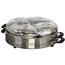 Smart Worldwide Lazy Susan Buffet Server - Silver
