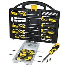 Stanley 34-Piece Screwdriver Set with Carry Case