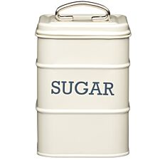 KitchenCraft Living Nostalgia Sugar Canister - Cream
