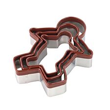 Tala Set of 3 Gingerbread Cookie Cutters