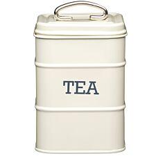 Kitchencraft Living Nostalgia Tea Canister - Cream