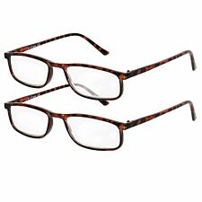 Betaview Duo Pack Strength 2.0 Unisex Reading Glasses - Tortoiseshell