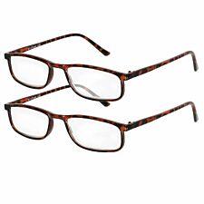 Betaview Duo Pack Strength 2.5 Unisex Reading Glasses - Tortoiseshell