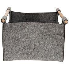 Korbond Hemmingway Felt Knitters Yarn Tote Bag