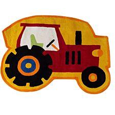 Premier Housewares 100% Cotton Tractor Rug