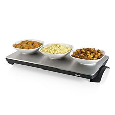 Swan SW12SS XL Cordless Warming Tray - Silver