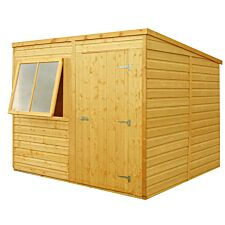 Shire 8ft x 6ft Wooden Pent Garden Shed