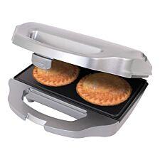 Quest 35970 700W Double Pie Maker – Silver/Black