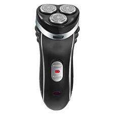 Bauer 38780 Cordless Professional 3–Head Electric Shaver – Black