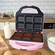 Global Gizmos 51390 Brownie Maker – Pink