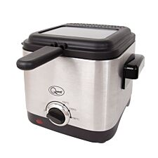 Quest 34250 1.5L Brushed Stainless Steel Deep Fat Fryer