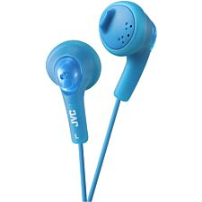 JVC Blue Gumy Headphones