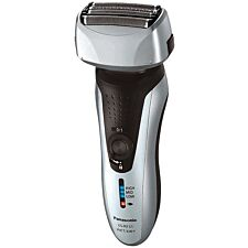 Panasonic ESRF31S Wet and Dry Rechargeable 4–Blade Electric Shaver – Silver