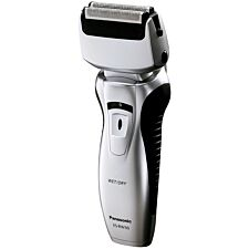 Panasonic 2-Blade Silver Wet and Dry Rechargeable Shaver