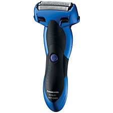 Panasonic 3-Blade Blue Wet and Dry Men's Electric Shaver
