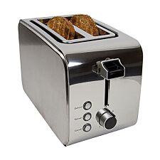 Igenix 2-Slice Toaster - Stainless Steel